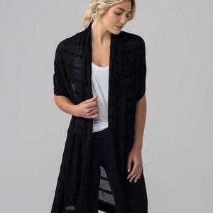 Lululemon Summer Solstice Wrap - Black - One Size